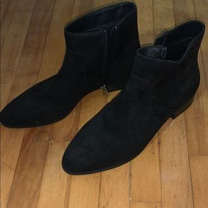Black booties for fall!